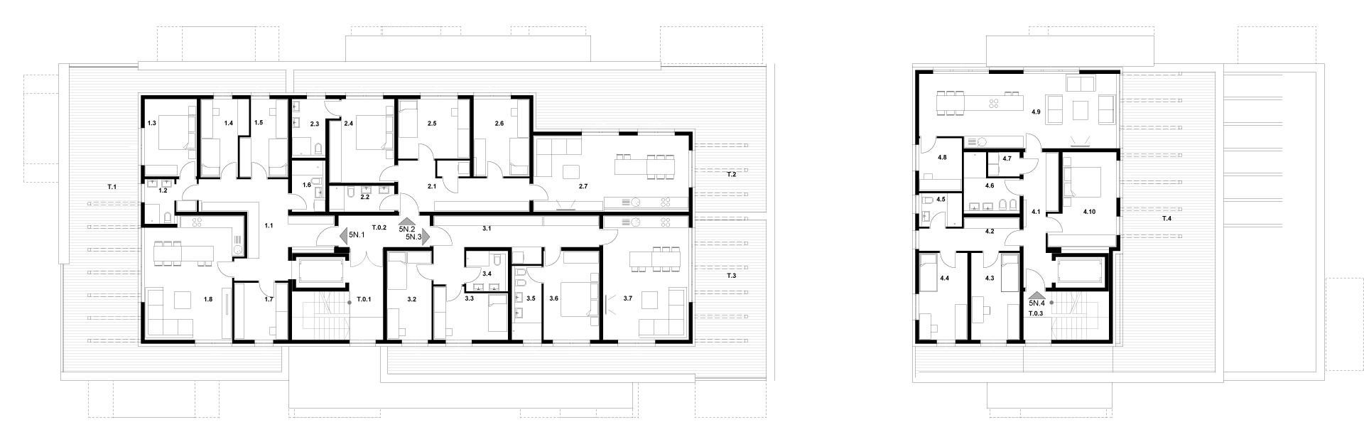 Stavba K 5. Nadstropje